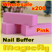 [PFL-076]Wholesale 200X Nail File Buffer, Buffing Sanding Files Block,wholesale,for Nail Art with buffer Polish Smooth Shine
