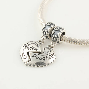 Yb146 925 pure silver jewelry gift swing bead silver beads