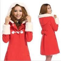 2013 New  women's  Hoodies  coats Slim  Coat autumn  Winter, M / L / XL  jackets  Warm Ladies Sweater Outerwear Casual  Retail