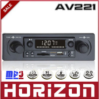 Horizon AV221 Electrically Tunable MP3, Car Stereo Systems, Car MP3 Player