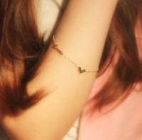 2013 Free Shiping Love Rose Gold Plated Bracelet Women Titanium Fashion Bracelet Gift Female