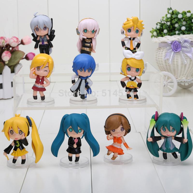 Nendoroid Petit Vocaloid figure Good Smile Hatsune Miku 10pcs = 1 set