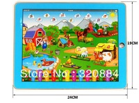 Free Shipping 1pcs kid table computer learning Machine,Y-pad learning machine,educational toys for children