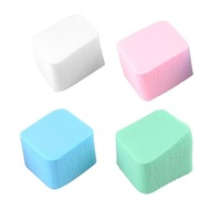 Rhombus soft sponge makeup cosmetic facial cleaning powder