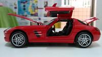 toys cars for kids mercedes benz  model car diecast cars for children red color metal car