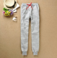 New women's fashion thickening cotton loose casual fleece sports trousers Women Harem Pants casual cotton pant