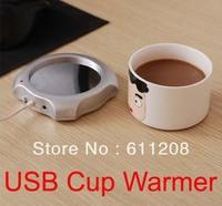 Free Shipping USB cup warmer Tea Coffee Beverage water Electric Cup Mug Warmer Heater