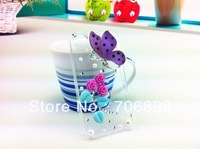 2013 New Arrival Butterfly Fairy 3d Back Cover for Case Iphone 5 Cute