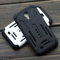 1pc Newest High Quality Slim Armor TPU+ Plastic Case for Samsung Galaxy S4 i9500 case free shipping
