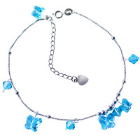 Jewelry crystal bell anklets female fashion gifts girlfriend birthday gift