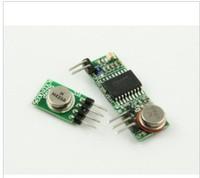 5pcs lot  433mhz RF wireless transmitter module with 3310mzh receiving module+Free shipping