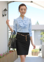 Autumn new arrival 2012 slim ol bust skirt hip skirt a-line skirt bag skirt step skirt 8071