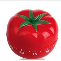 60 Minute Kitchen Cooking Ring Alarm Tomato timer tomato lovely reminder mechanical timer
