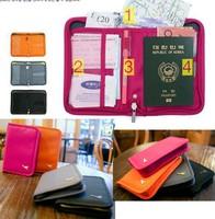 2013 Short Design Passport Holder Travel Storage Bag Card Holder Case Sorting Purse Passport Cover Free Shipping