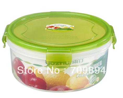 Alimentos hermético container--500ml - forma redonda(China (Mainland))
