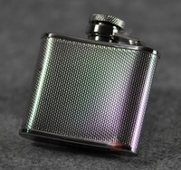 New Arrival 2 OZ Hip Flasks 58ml Mini Flasks 304 Stainless Steel Whisky Bottle Outdoor Tool Drop Shipping