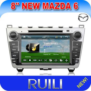 Mazda 6  Car DVD Navigation GPS 2 Din 8 inch Free Navitel or IGO  map