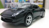 kids toys metal model car model toys for children with car lights black car toys