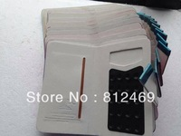 Free shipping 5.0 inch universal Leather case Cover For THL w200 w8 w8s w11 and other  phones