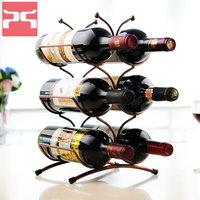 fashion quality red wine bottle holder wine cooler decoration furnishings