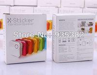 Wholesale X-Sticker Vibration Speaker White Color For MP3 MP4 Computer Cell Phone Speaker Vibration Speaker 1 PCS