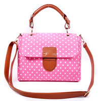 Women's women's bags dot 0812 hasp one shoulder cross-body handbag