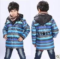 Child down coat children's clothing male child medium-long children winter