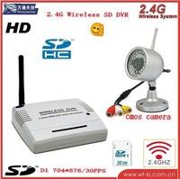 Wireless DVR (with audio, 2.4GHZ, 4-CH) support SD to 32GB+2.4G Wireless camera