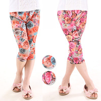 New arrival children's clothing female child 2013 summer all-match 139003 print legging