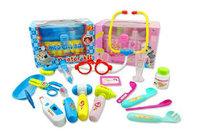Semiportable mccune child medicine box toy doctor box health care case