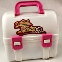 Plastic toy medicine box 10 piece set