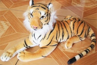 Furniture quality artificial tiger doll plush toy child gift