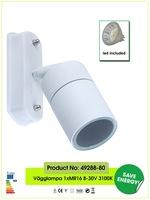 morden brief  milk white indoor/outdoor wall lamp/wall light/spot light/led wall spot light