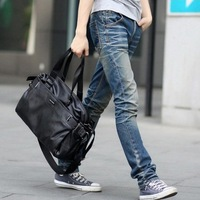 2013 New Fashion Casual Men Luggage & Travel Bags High Quality PU Leather Mens Messenger Bag/Shoulder Bags/ Handbag Tote