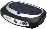 Newly Solar Car Air Purifier With Ozone And Anion To Sterilizer Remove Odor And Smoking