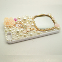new arrivals luxury pearl mirror cell phone back cover case fit For Samsung SIII 9300 phone case phone shell
