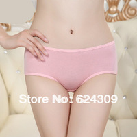 Free shipping Genuine Cute Langsha underwear Ms. underwear Wood fiber Cozy Briefs Sweat Breathable Antibacterial Women's Shorts