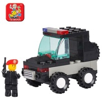 Small luban blocks explosion-proof m38-b700 small assembling toys fight inserted blocks