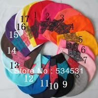 New 2013 hot 2pcs /lot Design Baby cap Fashion Star hat cotton hat boys & girls skull cap Beanie hat free shipping
