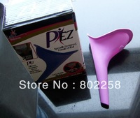 Wholesale Fast shipping 20pcs/lot Female Urination Device/Lady Elegance P EZ Female Urinal retail color box packing