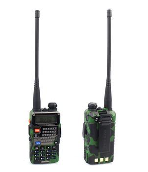 New A1041M UV-5RE Plus Camouflage Walkie Talkie UHF+VHF 400-520MHz+136-174MHz 5W 128CH DTMF VOX 1750Hz Radio