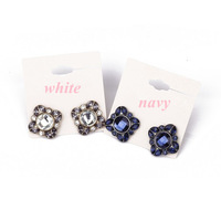 Minimum Order $20 (mixed order) fashion accessories rhinestone bling luxury large particles stud earrings