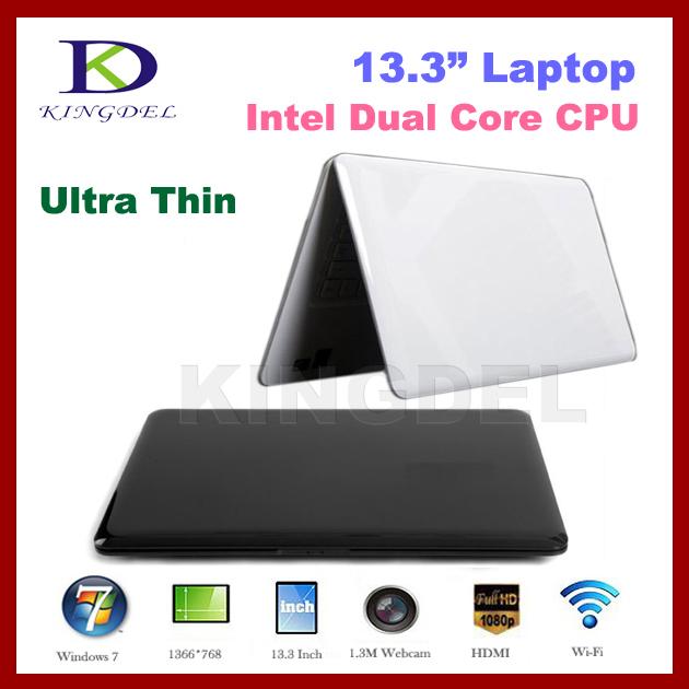 "Intel N2600 Dual Core 1.6Ghz 2GB&160GB 13.3"", Super Thin laptop Notebook Computer Webcam, HDMI,WIFI,4500mah Battery Windows 7(Hong Kong)"