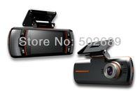 F90/F90G HD Dual Lens Car dvr camera video recorder H.264 G-Sensor 1920x1080p 20FPS 2.7' LCD/External IR Rear Camera/