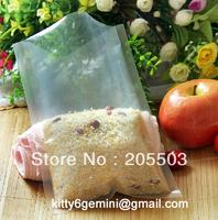 17*25cm Food vacuum packaging bag ,transparent plastic bag ,thickness 0.24mm