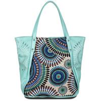 2013 new women Ameliegalanti peacock embroidery knitted national trend handbag PU women's handbag shoulder bag zipper