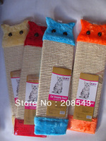 FREE SHIPPING!!!Scratching Pet Toys Plush Toys Catnip Cat Scratcher Board Hanging Claws Grinding