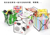 S001 5 PCS/Lot Desk storage Box Glove Box Folding Storage Rack Office Supplies Promotion Product