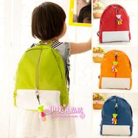 new lovely 2013 Cartoon violence bear child backpack male child school bag 40.77% female child school bag