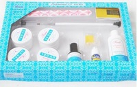 Free Shipping - UV GEL STARTER SET FOR NAIL ART DECORATION hot sell best price